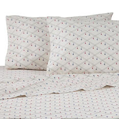 IZOD Holiday Flannel Sheet Set (Assorted Patterns and Sizes)