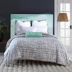 Amy Sia Artisan Comforter Set, Gray