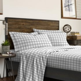 IZOD Buffalo Plaid 6-Piece Sheet Set (Assorted Sizes)