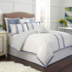Jill Rosenwald London Blue Reversible Comforter Set (Assorted Sizes)