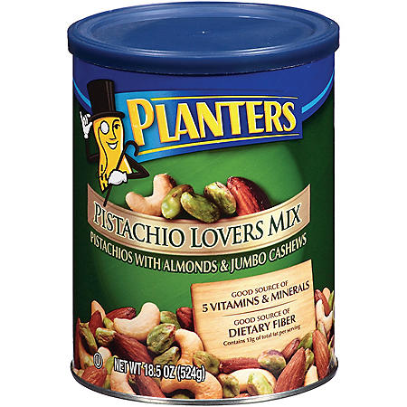 Planters Pistachio Lovers Nut Mix (18.5 oz.)