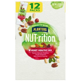 Planters NUT-rition Heart Healthy Mix (1.5 oz., 12 ct.)