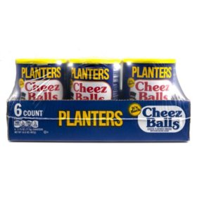 Planters Cheez Balls Canister (2.75 oz., 6 ct.)