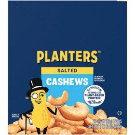 Planters Salted Cashews (1.5 oz. Pouches, 18 ct.)