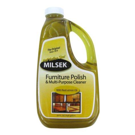 Milsek Furniture Polish & Multi-Purpose Cleaner - 64 oz.