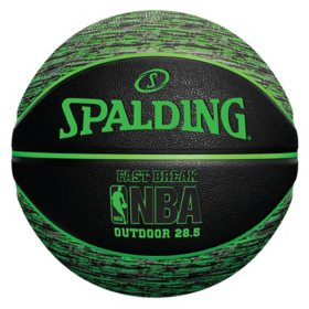 Spalding NBA Fast Break Outdoor Basketball, 28.5""