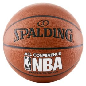 Spalding NBA All Conference Indoor-Outdoor Basketball, 29.5""
