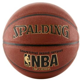 Spalding NBA Zi/O Excel Indoor-Outdoor Basketball, 29.5""