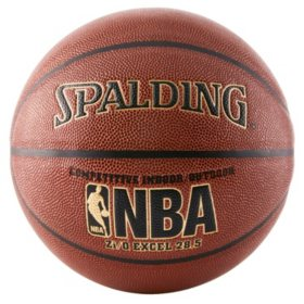 Spalding WNBA Zi/O Excel Indoor-Outdoor Basketball, 28.5""