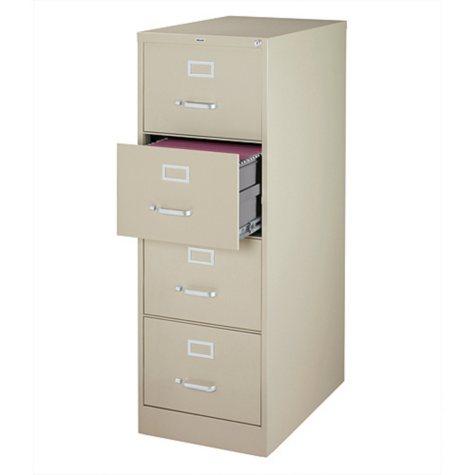 "Hirsh - 4-Drawer Commercial Vertical File Cabinet 26.5"""
