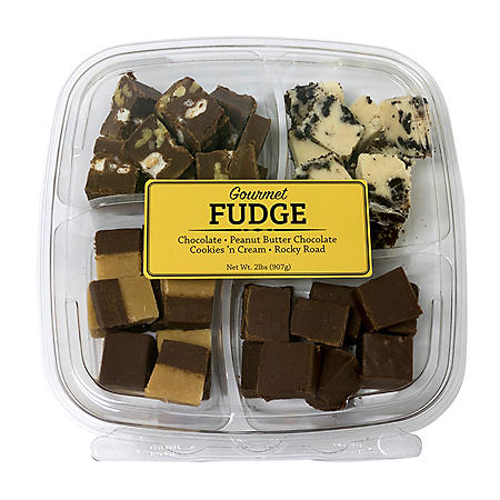 Gourmet fudge party platter
