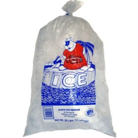 Alex's Ice, Bagged (25 lbs.)