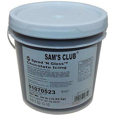 Chocolate Spread N Gloss Icing, Bulk Wholesale Case (24 lbs.)