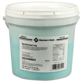Member's Mark Color But-R-Creme Icing, Bulk Wholesale Case (12 lbs.)