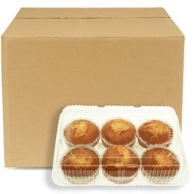 Corn Muffins, Bulk Wholesale Case (60 ct.)