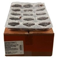 Double Chocolate Muffins, Bulk Wholesale Case (60 ct.)