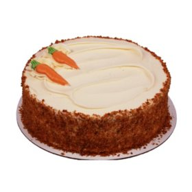 Member's Mark 10 in. Double Layer Carrot Cake (90 oz.)