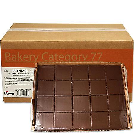 Gourmet Brownie Platter, Bulk Wholesale Case (4 pks.)
