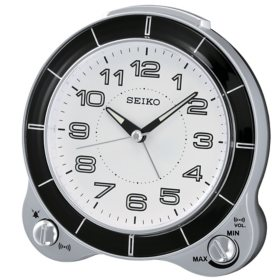 """Seiko 5"""" Akiko Alarm Clock"""