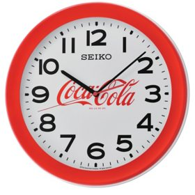 "Seiko 14"" Coca-Cola Wall Clock"