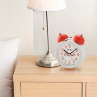 "Seiko 5"" Deux Bell Alarm Clock by Coca-Cola (Assorted Colors)"