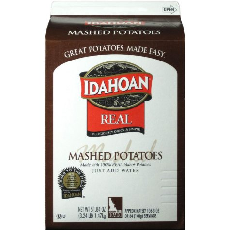 Idahoan Real Mashed Potatoes - 6 pk.