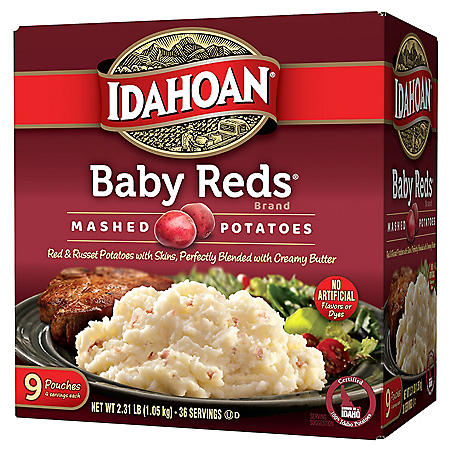 Idahoan Baby Reds Value Pack Mashed Potatoes (4 oz., 9 pk.)