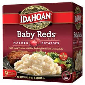 Idahoan Baby Reds Value Pack Mashed Potatoes (4 oz., 9 pk.)