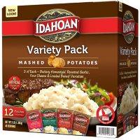 Idahoan Real Premium Mashed Potatoes Variety Pack (4 oz., 12 pk.)