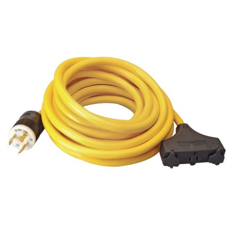 Coleman Cable - 30 Amp 10/3 Generator Cord - 25'