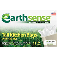 EarthSense - Recycled Can Liners - 13 gal - 90 ct.