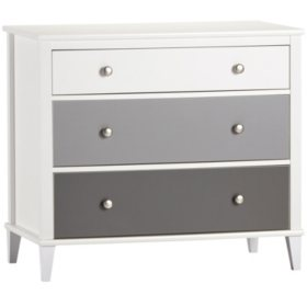 Little Seeds Monarch Hill Poppy 3 or 6 Drawer Dresser (Choose Color and Size)