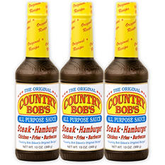 Country Bob's All Purpose Steak Sauce - 3/12.5 oz.