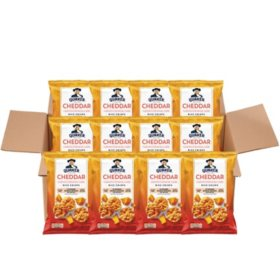Quaker Popped Rice Crisp Snacks, Cheddar Cheese (3 oz., 12 ct.)