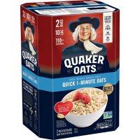 Quaker Quick 1-Minute Oats (5 lb., 2 pk.)