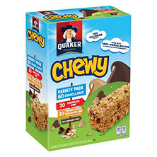 Quaker Chewy Granola Bars, Variety Pack, (60 ct.)