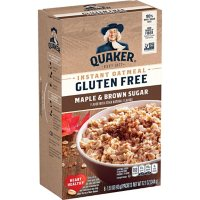 Quaker Gluten-Free Instant Oatmeal, Maple and Brown Sugar (48 ct.)
