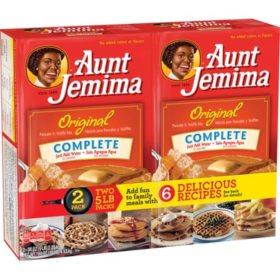 Aunt Jemima Original Complete Pancake and Waffle Mix (5lb., 2ct.)