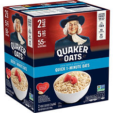Quaker Quick 1-Minute Oats (40 oz. ea., 2 pk.)