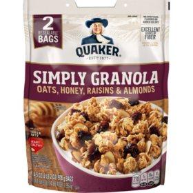Quaker Simply Granola (34.5 oz., 2 pk.)