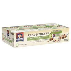 Quaker Real Medleys Oatmeal (Apple Walnut, 8 pk.)