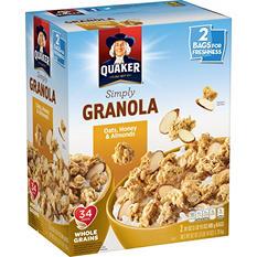 Quaker Simply Granola Oats, Honey and Almonds (31 oz., 2 pk.)