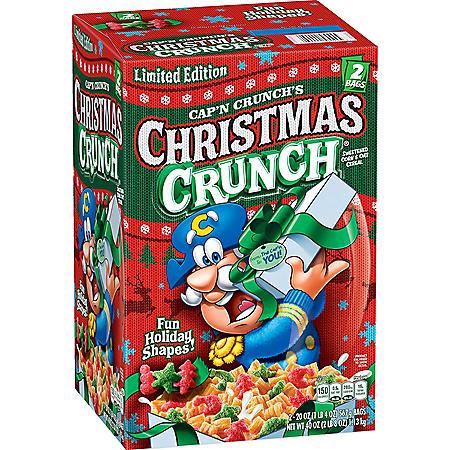 Cap'n Crunch's Christmas Crunch Cereal (40 oz.)