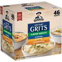Quaker Instant Grits, Variety Pack (46 pk.)
