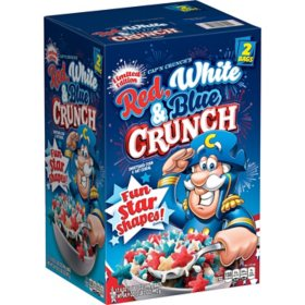 Cap'n Crunch's Red, White and Blue Crunch Cereal (2 pk.)