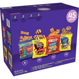 Keebler Cookies And Crackers Variety Pack (45 pk.)