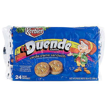 Keebler El Duende Vanilla Creme Sandwich Cookies (24 ct.)