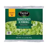 Taylor Farms Shredded Iceberg Lettuce (2 lbs.)