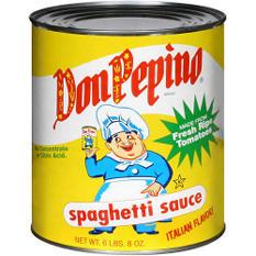 Don Pepino® Spaghetti Sauce - 104oz