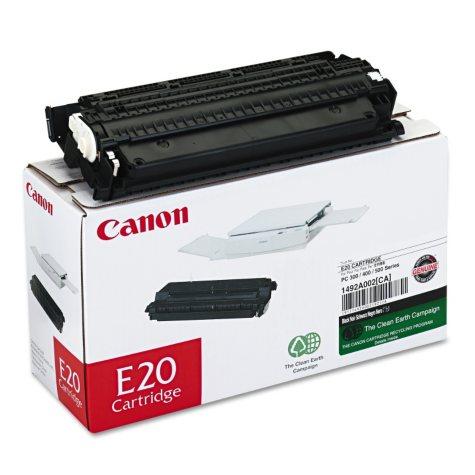 Canon E20 Toner Cartridge, Black (2000 Page Yield)